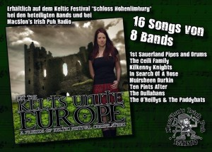 Keltic Festival Sampler 2015 Cover